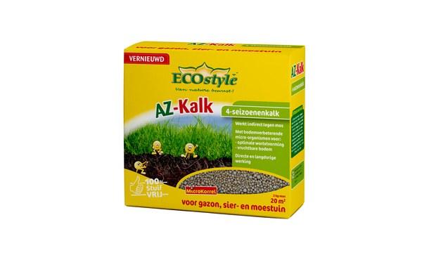 ECOstyle AZ-Kalk 2 kg • Gras en Groen Graszoden
