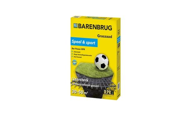 Barenbrug Speel en Sport 1 kg • Gras en Groen Winkel