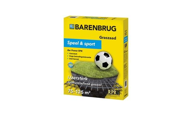 Barenbrug Speel en sport 2,5 kg • Gras en Groen Graszoden