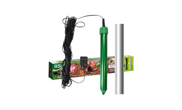 BSI Mollen stop incl, adapter en snoer • Gras en Groen Graszoden