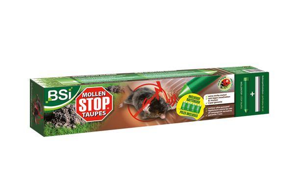BSI Mollen stop mollenverjager incl. batterij • Gras en Groen Graszoden