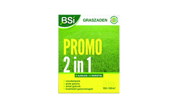 BSi Graszaad promo 3 kg • Gras en Groen Winkel