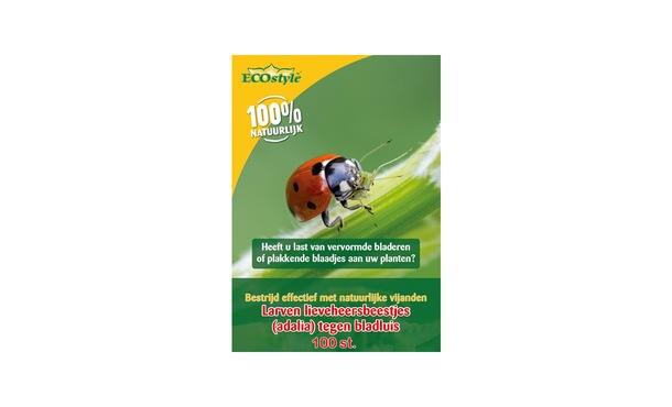 Larven lieveheersbeestje 100 st. • Gras en Groen Winkel