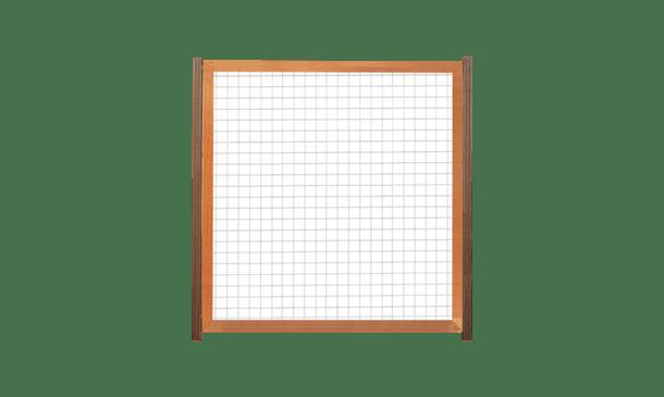 Trellisscherm douglas 180 cm i.c.m. hardhouten palen • Gras en Groen Schuttingen