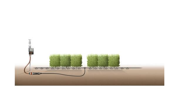 Gardena startset S voor 15m rijplanten • Gras en Groen Hagen