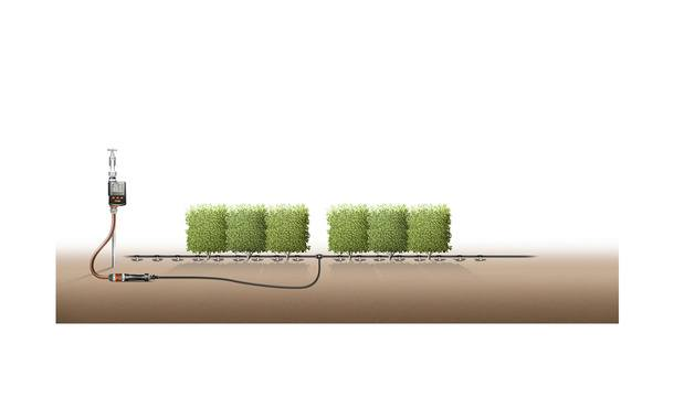 Gardena startset M voor 25m rijplanten • Gras en Groen Hagen