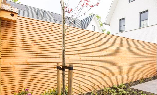 Deens rabat Red Class Wood • Gras en Groen Schuttingen
