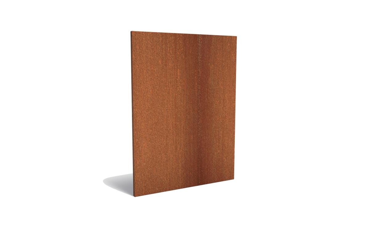 Tuinpaneel corten basic 135 x 180 cm • Gras en Groen Winkel