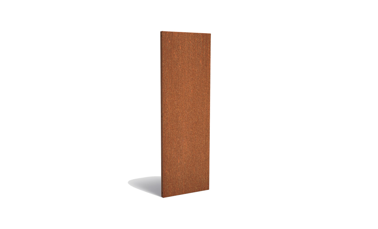 Tuinpaneel corten basic 60 x 180 cm • Gras en Groen Winkel